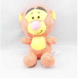Doudou Tigrou orange jaune laine DISNEY NICOTOY