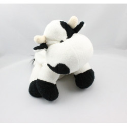 Doudou vache blanche et noir CP INTERNATIONAL