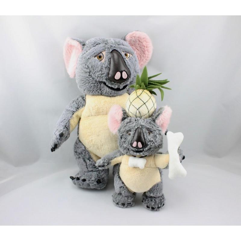 Peluche Koala Niger Les Sauvages DISNEY