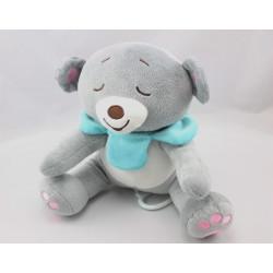 Doudou koala ours gris bleu Dodo d'amour MGM