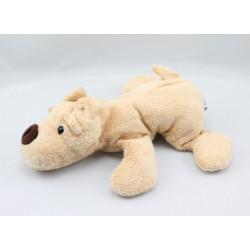 Doudou chien beige AJENA