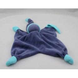 Doudou plat poupée lutin bleu PEPPA