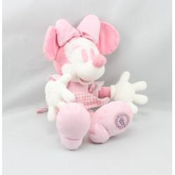 Peluche Minnie rose vichy DISNEY STORE