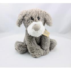Doudou chien lapin gris Oscar J-LINE