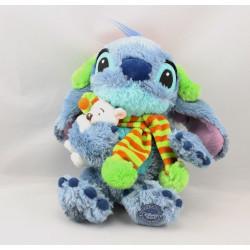 Peluche Stitch de Lilo et Stitch écharpe avec ours DISNEY STORE