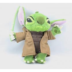Peluche Stitch en Maitre Yoda Star Wars DISNEYLAND