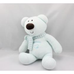 Doudou ours koala bleu Luminou JEMINI