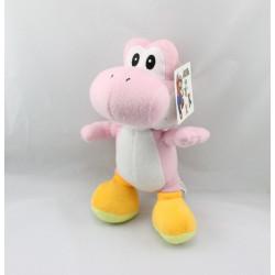 Peluche Yoshi rose Super Mario Bros NINTENDO