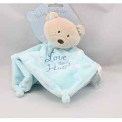 Doudou plat ours bleu étoiles BABY HUGS