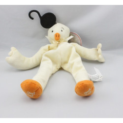 Doudou poussin canard jaune orange CENTRAL VET
