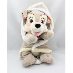 Doudou chien Clochard avec couverture DISNEY