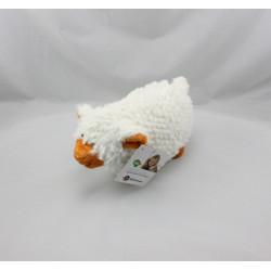 Doudou mouton blanc MARQUE VERTE