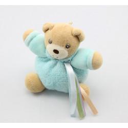 Mini Doudou ours bleu rubans KALOO