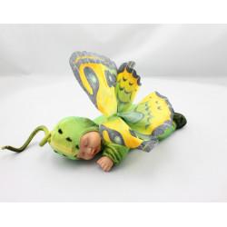 Poupée papillon vert ANNE GEDDES 25 cm