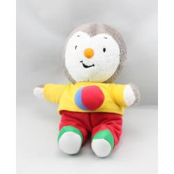 Doudou Tchoupi pull jaune pantalon rouge ballon JEMINI