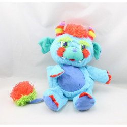 Peluche Popples bleu Monster Pop Vampire Sonore