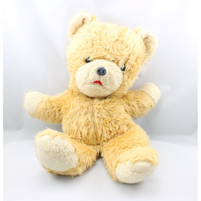 Ancienne peluche ours beige CHAMTI