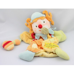 Doudou et compagnie marionnette clown le rire medecin jaune vert orange rouge