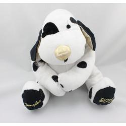 Doudou chien blanc noir et or DOUGLAS 2013