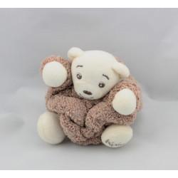 Doudou petit ours Plume marron KALOO