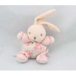 mini Doudou Lapin lilirose rose fleur Kaloo
