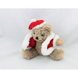 Doudou ours de Noël CELIO CROIT