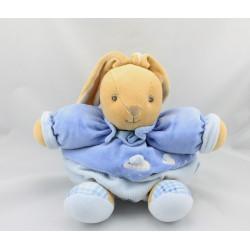 Doudou lapin patapouf bleu souris KALOO