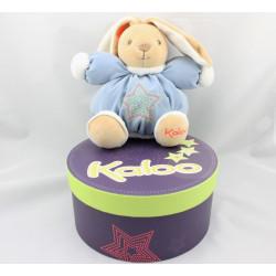 Doudou lapin bleu étoiles Winter Follies KALOO