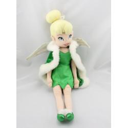 Peluche Fée Clochette manteau cape verte DISNEYY