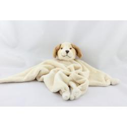 Doudou plat chien beige marron BUKOWSKI