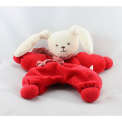 Doudou lapin Patachou  rose cassis Corolle