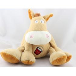 DDoudou musical cheval beige marron GIPSY
