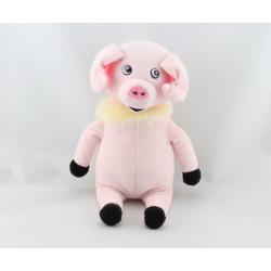 Doudou cochon rose JEMINI