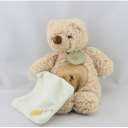 Doudou ours beige mouchoir Baby Nature BABY NAT