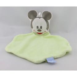 Doudou plat souris MICKEY vert DISNEY BABY