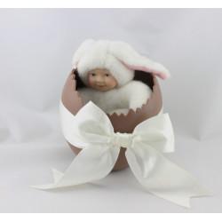 Poupée Lapin blanc ANNE GEDDES 20 cm