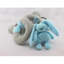 Spirale d'activités eveil Doudou lapin bleu NATTOU