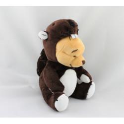 Doudou Winnie l'ourson déguisé en Castor Collection DISNEY