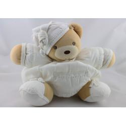 Doudou ours patapouf blanc KALOO
