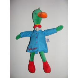 Doudou canard Professeur Colvert veste bleu Moulin roty