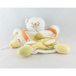 Doudou plat marionnette chat avec souris DOUDOU ET COMPAGNIE