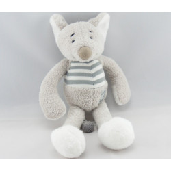 Doudou plat lapin orange BABY FOLLY