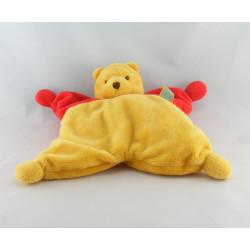 Doudou plat étoile rouge Winnie l'ourson DISNEY BABY