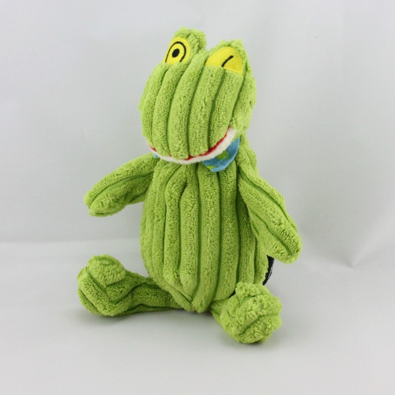 Doudou grenouille verte DEGLINGOS