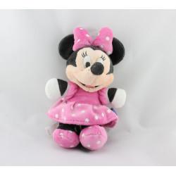 PPeluche Minnie robe rose à pois DISNEY NICOTOY