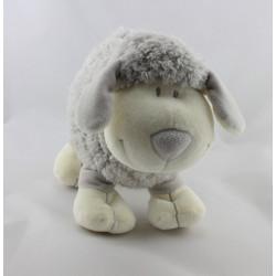 Doudou mouton gris blanc NICOTOY