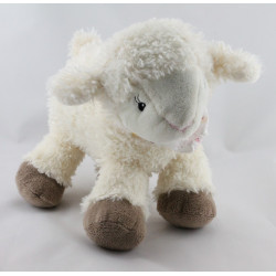 Doudou mouton blanc HAPPY FRIENDS