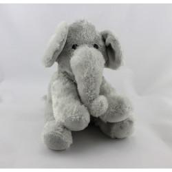 Doudou éléphant gris ZOOPARC BEAUVAL