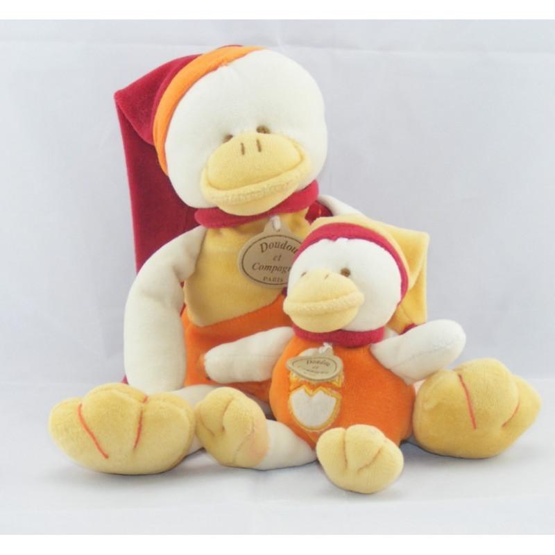 Doudou Canard Gédéon et son bébé Doudou et compagnie