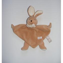 Doudou semi plat chien beige TIAMO COLLECTION